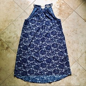 MICHAEL KORS   Chain Neck Trapeze Dress